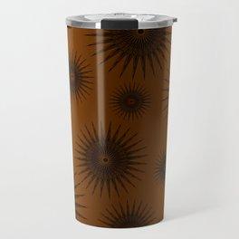 Caramel & Chocolate Star Bursts Travel Mug