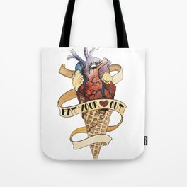 Eat Your Heart Out Tote Bag