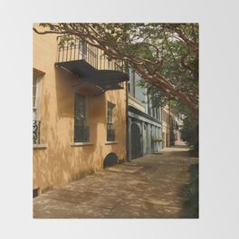Charming Charleston Street Throw Blanket