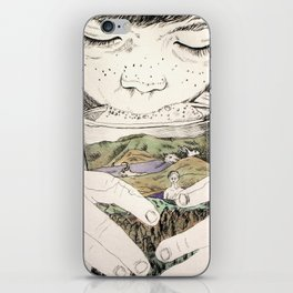 MOUNTAIN MILK iPhone Skin