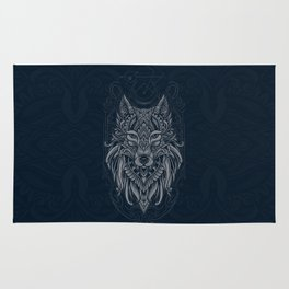 Wolf of North Rug