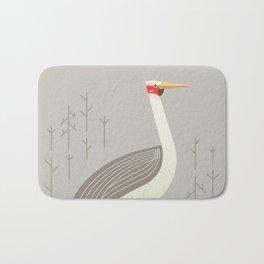 Brolga, Bird of Australia Bath Mat