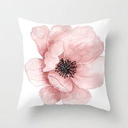 :D Flower Throw Pillow