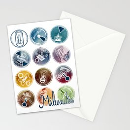 Milwaukee Beer Stationery Cards