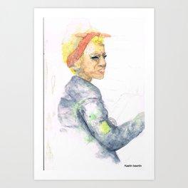 Alise Art Print