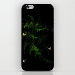 Fractal Woodland Fern iPhone Skin