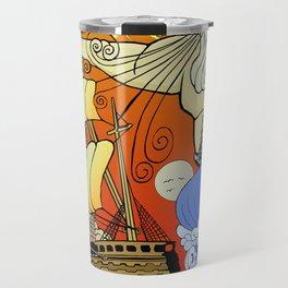 Tales of the Trident:Poseidon Travel Mug