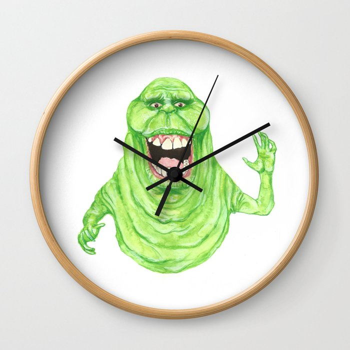 Slimer Wall Clock