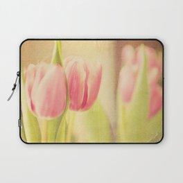 Vintage Tulips Laptop Sleeve