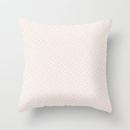 10 Print: Thin Red Throw Pillow