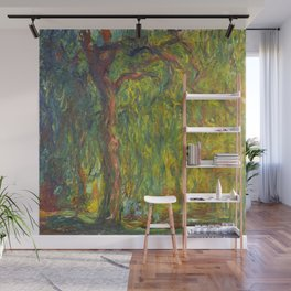 "Claude Monet ""Weeping Willow"" Wall Mural"