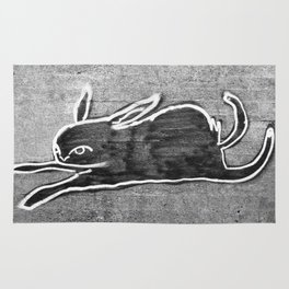 Blackjack Rabbit Rug