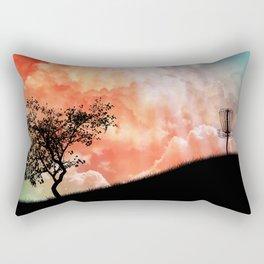 Basket On A Hill Rectangular Pillow