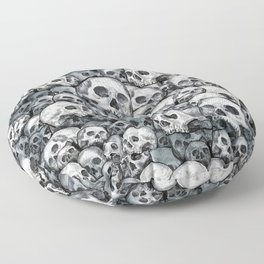 Skull Pattern Floor Pillow