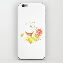 Citruses and drink iPhone Skin
