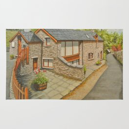 Bank Cottage, Talybont-on-Usk Rug