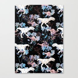 Jurassic Noir Canvas Print