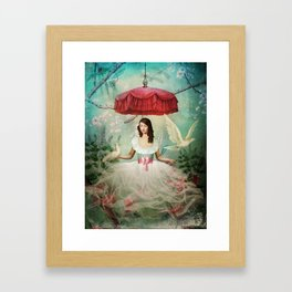 Earl Grey Slash Framed Art Print