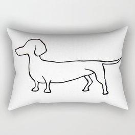 Doxie Rectangular Pillow