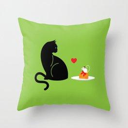 Mouse Trap Throw Pillow