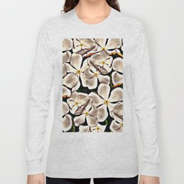 White flowers Long Sleeve T-shirt