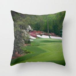 Augusta Amen Corner Golf Throw Pillow
