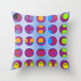 Circ 001B Throw Pillow