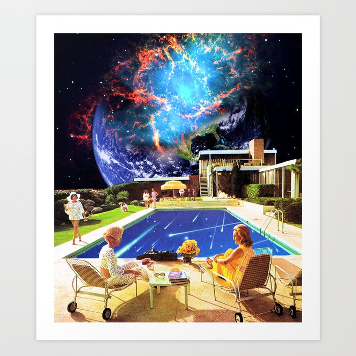 I knew that planet was DOOMED!!! Art Print