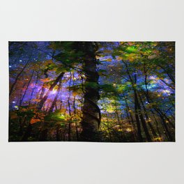 Forest of the Fairies Night Rug