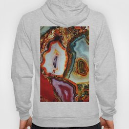 Agate, the Layers of our Earth Hoody