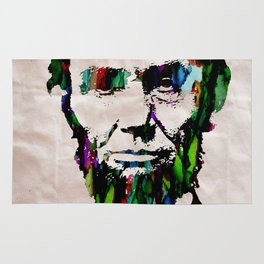 Abraham Lincoln 2017 Watercolor President Art Painting Pop ART Rug