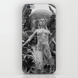Downtown Statues iPhone Skin