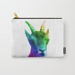Rainbow Goat Carry-All Pouch