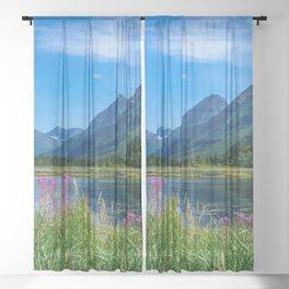 God's Country 4129 - Alaska Sheer Curtain