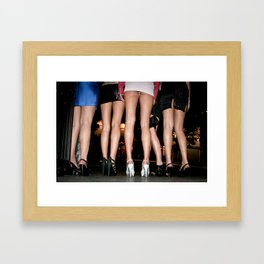 excuse me miss Framed Art Print