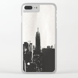 New York City Skyline Clear iPhone Case