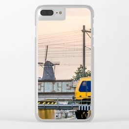 Sunrise Commute Clear iPhone Case