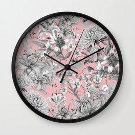 FLORAL GARDEN 7 Wall Clock
