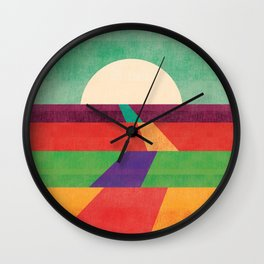 The path leads to forever Wall Clock