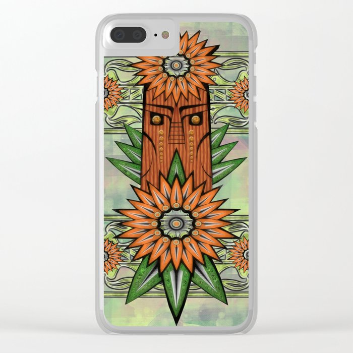 Forest Power Clear iPhone Case
