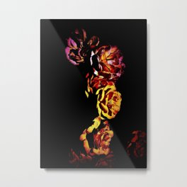 Dark Rose Tower, Broken Heart Metal Print