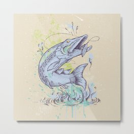 Pike Dream Metal Print