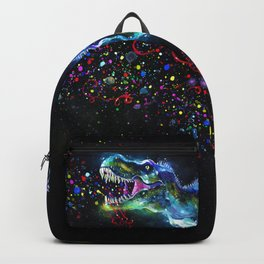 Crystal T-Rex in Space Backpack