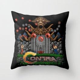 Contras Throw Pillow