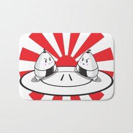 Rice Balls Sumo Onigiri Bath Mat