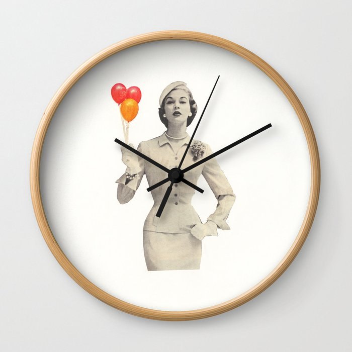 I am Woman Wall Clock