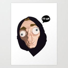 EYE-GOR Art Print