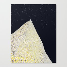 The Unknown Canvas Print