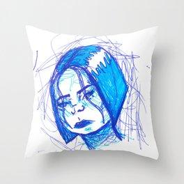 Moody Throw Pillow