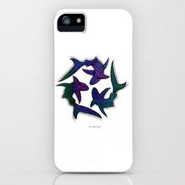 SHARK CIRCLE II iPhone Case